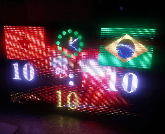 Ecran géant LEDpour affichage sportif