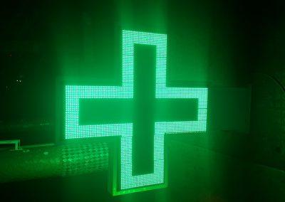 Croix LED de pharmacie maroc